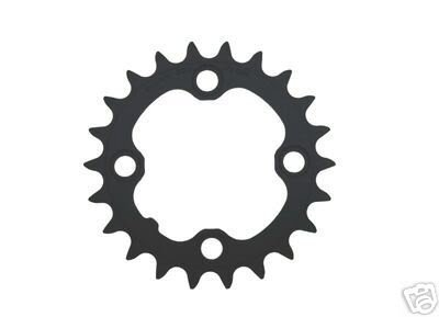 Shimano M800/760 9sp chainring, 64BCD x 22t - blk