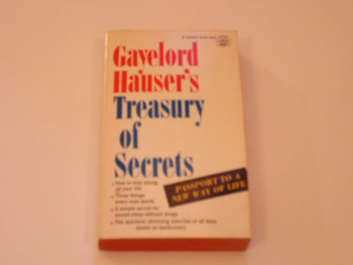 Image for Gayelord Hauser's Treasury of Secrets