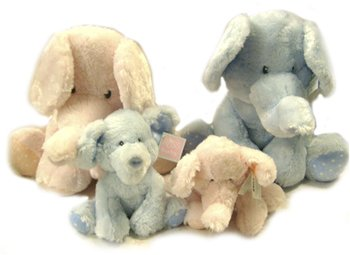 Ddi Russ Elephant 8 Piece Family Plush Assorted Sizes (Pack Of 8) front-1039158