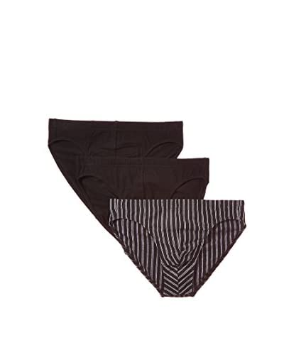 Esprit Pack x 3 slips Negro