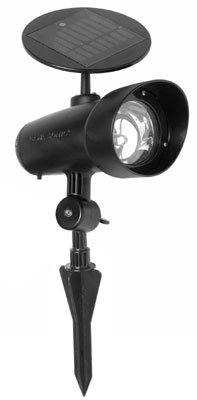 Gama Sonic Solar Garden And Landscape Led Spotlight, White Led #Gs-29-W