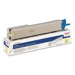 Okidata Brand C3400n - 1-High Yield Yellow Toner (Office Supply / Toner)