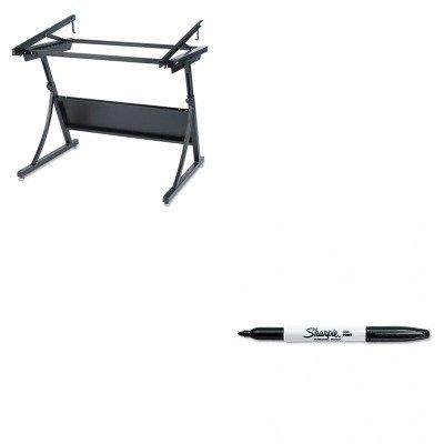 KITSAF3957SAN30001 - Value Kit - Safco PlanMaster Drafting Table Base (SAF3957) and Sharpie Permanent Marker (SAN30001)