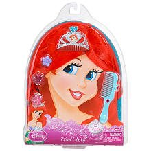 Disney Princess Ariel Wig - Hair Accessories Included