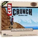 Clif Crunch Bar, White Chocolate Macadamia Nut, 1.5-Ounce, 10 Count (Pack of 2)