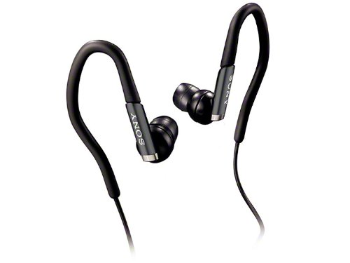 Sony Active Style Stereo Soft-Hanger Headphones | Mdr-As41Ex B Black