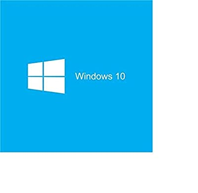 Microsoft Windows 10 Home 64 Bit English, OEI DVD (PC)