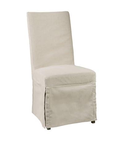 Bassett Mirror Co Joelle Side Chair, Natural