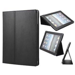 Axstyle 高品質 スリムレザーケース High Quality Slim leather case for new iPad(第3世代),iPad2 フリップスタンド ブラック 2012年モデル対応 Amazon限定 オリジナルモデル