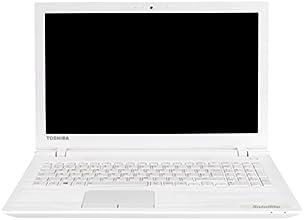 """Toshiba C55-C-12W PC Portable 15"""" Blanc Texturé (Intel Core i5, 6 Go de RAM, Disque dur 1 To, Carte Nvidia 2G, Mise à jour Windows 10 gratuite)"""