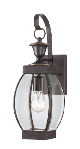 Quoizel OAS8406Z Oasis 17-Inch H. 1 Light Outdoor Wall Lantern (Quoizel Oasis compare prices)