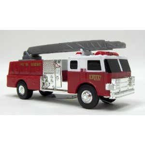 TOMY International Toy Fire Truck, Red