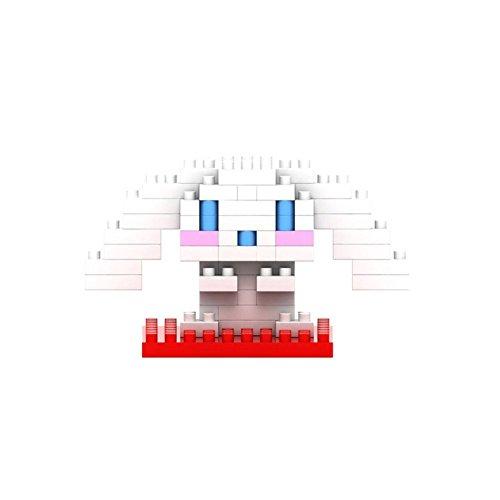 LOZ Diamond Blocks Hello Kitty Nano Block 70 Piece Building Sets - Shirousa - 1