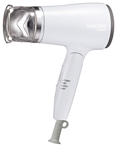日立 ドライヤー イオンケア ホワイト Hd-n410 W