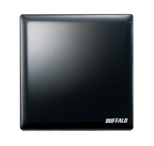 BUFFALO USB2.0用 外付けポータブルDVDドライブ DVSM-PN58U2V-BK