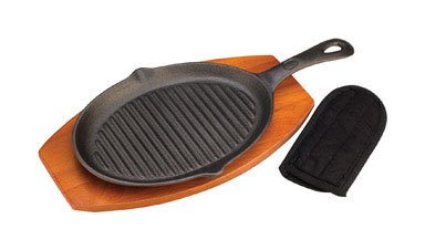 Grillmark Fajita Set Cast Iron Cotton Handle 7