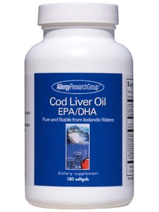 Allergy Research Group - Cod Liver Oil Epa/Dha 180 Gels