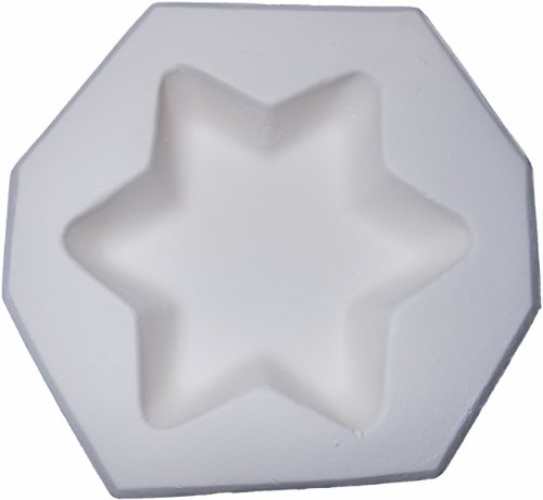 Simple Star Of David - Fusible Glass Frit Forming Jewelry Casting Mold!