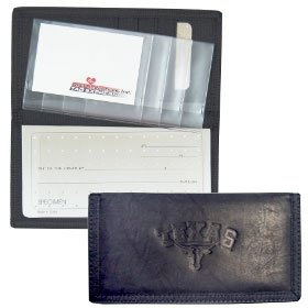 Texas Longhorns Leather/Nylon Embossed Checkbook Cover at Amazon.com