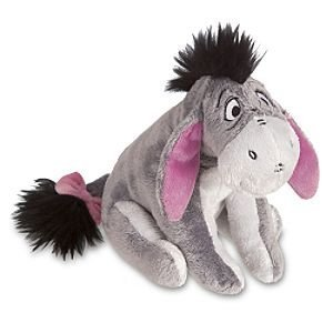 Disney Eeyore Plush Mini Bean Bag Toy -- 7''