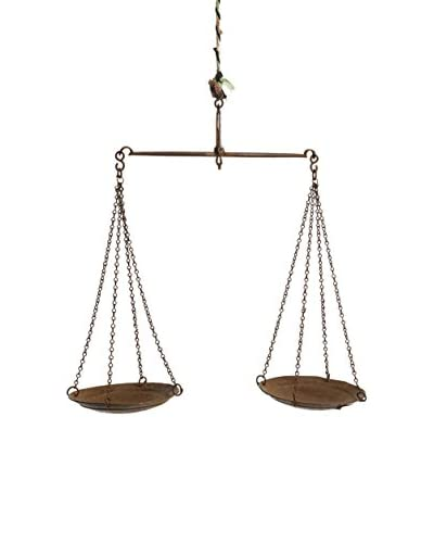 bambeco Recycled Iron Market Scale, Silver, Large
