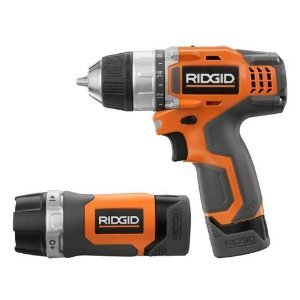 Ridgid R92008 12-Volt Lithium-Ion Fuego Drill-Driver and LED Light Combo