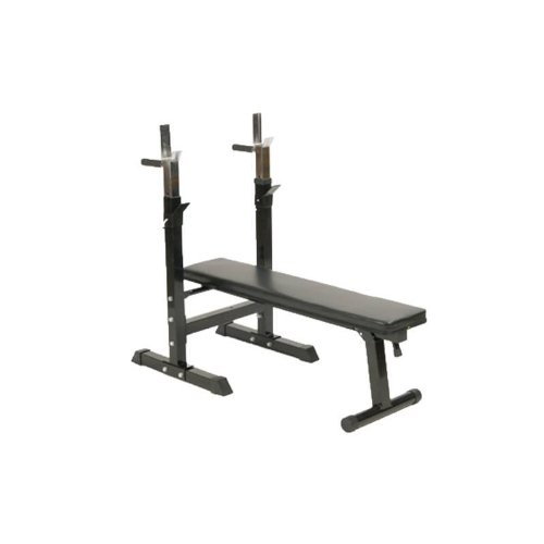 Weight Bench with Adjustable Barbell Rack