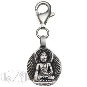 Pendant, Charm; Little Buddha; 1 1/4