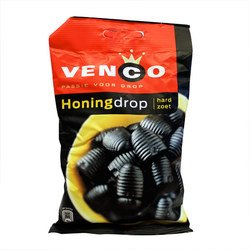 Venco Passie voor Honingdrop Hard Zoet (Honey Licorice Hard Sweet)