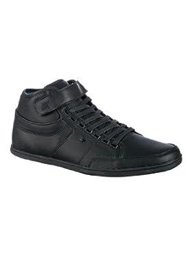 Boxfresh Swich Lea Formosa E-12367 Herren Sneaker Black/Black/Cyan, EU 46