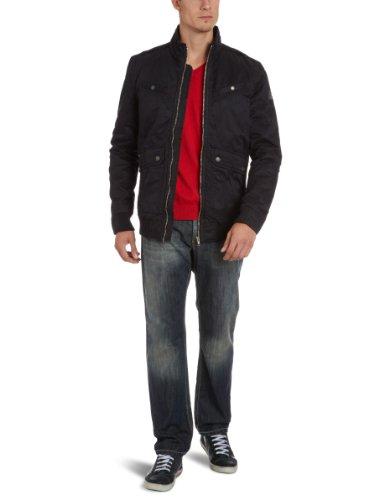 Energie Men's 7D0700-Ga9085-L0010H/Leander Jacket Jacket Black (G06000) 46/48