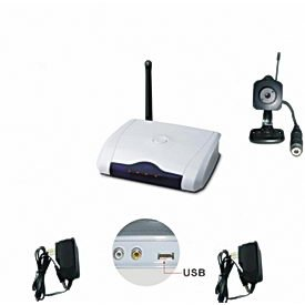 Mini Gadgets Inc. HS203USB 2.4GHz Color Spy Cam with PC USB Adapter