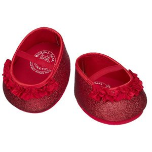 31zPGw6p4cL Cheap Price Build A Bear Workshop Red Glitter BearyJane® Shoes