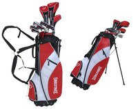 Spalding Men's SP99 Golf Half Set With Bag - (Silver, Left Hand, Hybrid)