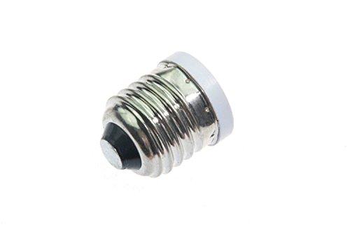 Shangge Ce&Rohs Certification 5 Pcs E27 To E12 Led Bulb Base Converter Halogen Cfl Light Lamp Adapter Socket Change Pbt