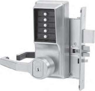 Kaba Simplex R8148B-26D-41 Lever Mechanical Pushbutton Lock Key Bypass Mortise Prep For Best Sfic Le