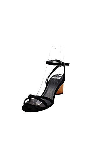 What For 246 Sandalo Donna Camoscio Nero Nero 41