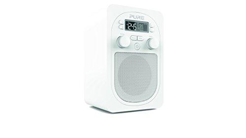 Pure VL-62868 Evoke D1 (DAB/DAB+ Digital und UKW-Radio mit Küchen-Timer) weiß