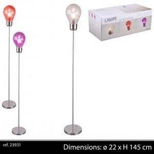 Lampadaire lampe sur pied design grosse ampoule pour for Lampadaire pour cuisine