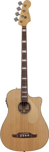 Fender 968603021 Kingman Bass SCE Acoustic Electric Guitar v2, Natural