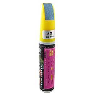 Ice Blue 12ml Scratches Touch up Paint Pen for Vehicle from sourcingmap
