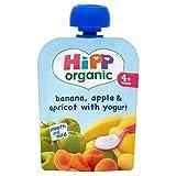 HiPP Organic Banana, Apple & Apricot with Yoghurt 4+ Mths 70G