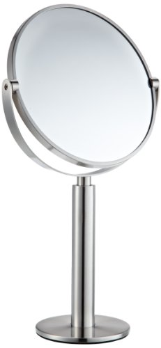 Zack 40114 35.5 cm Felice Side Cosmetic Mirror with Enlargement By a Factor of 3