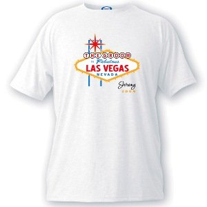 Personalized Vegas Bachelor Party Tshirts