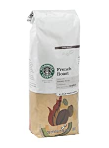 Starbucks French Roast, Whole Bean Coffee (1lb)