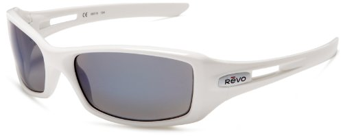 Revo Red Point Rectangular Polarized Sunglasses