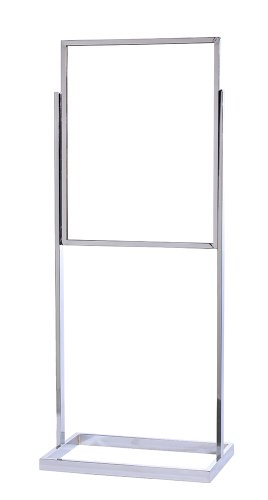 ComeAlong-Industries-Single-Frame-Poster-Stand-with-Polished-Chrome-Finish-22-x-28-x-60-Height