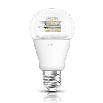 AURAGLOW RGB LED Lampe multicolor Glühbirne Glühlampe mit