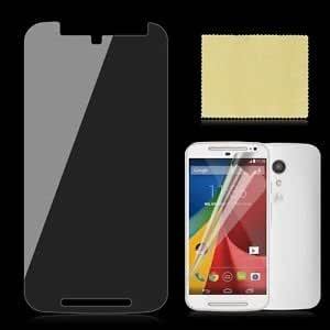 MAK gears Clear Scratch Guard Screen Protector For MOTO G 2