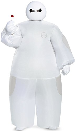 White Baymax Inflatable Costume (Kids)